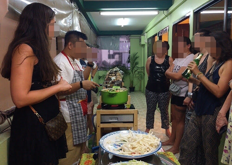 meetupにてタイ料理を学ぶ