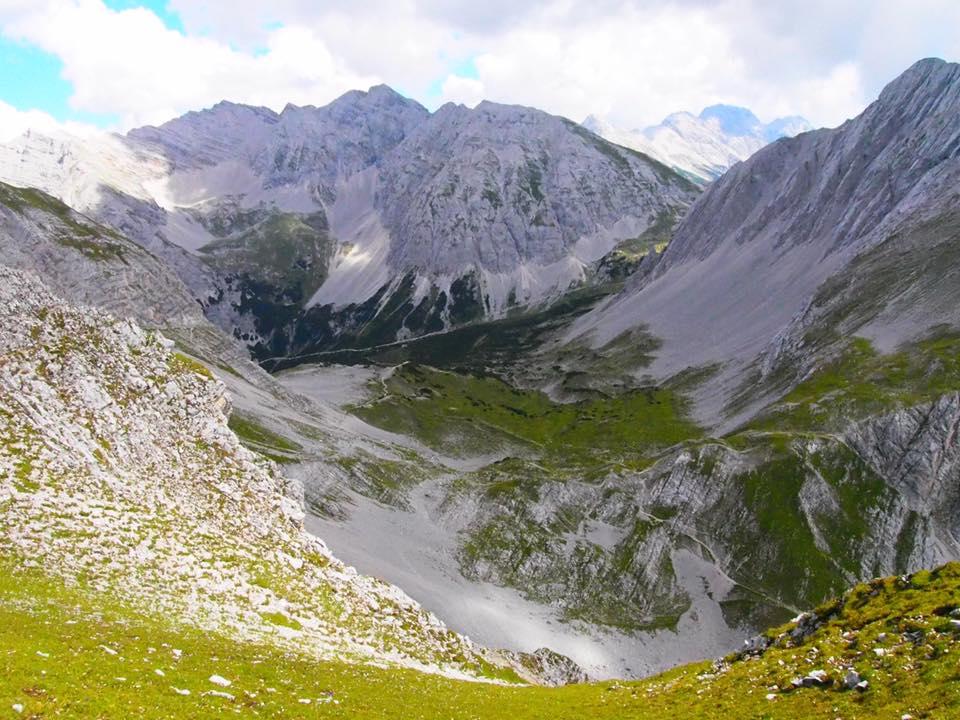 アルプスの山