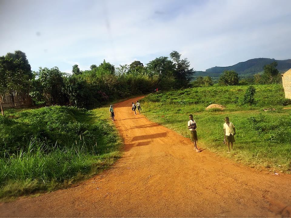 ウガンダの首都カンパラ
