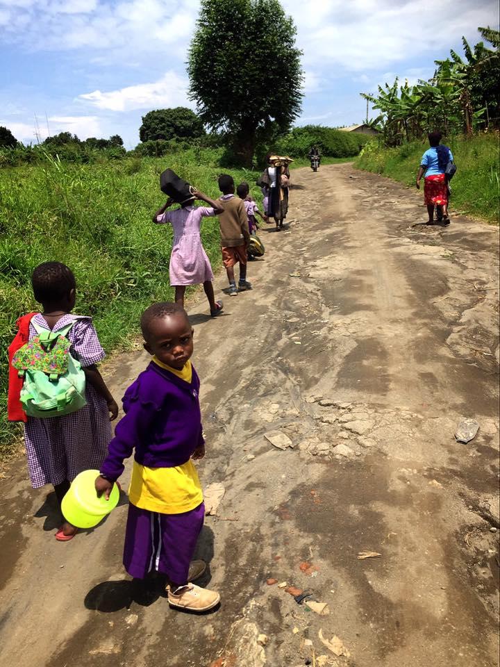 ウガンダ西部の町フォート・ポータル