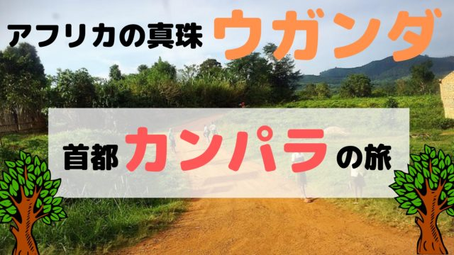 【未知の大陸アフリカの旅】 ウガンダ・カンパラ編 (2)