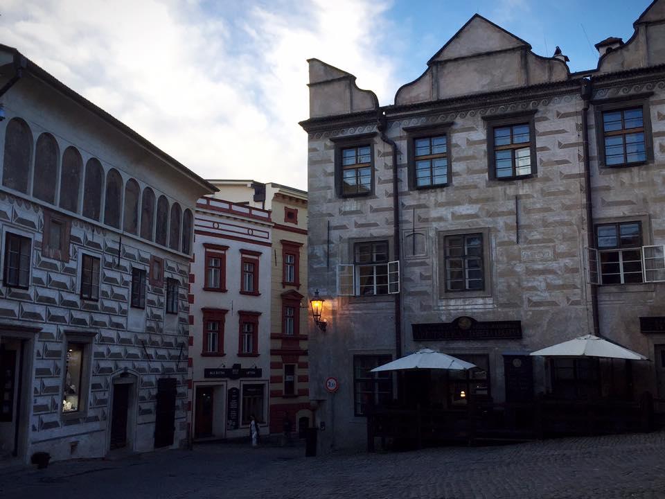 世界でもっとも美しい街チェスキー・クルムロフ
