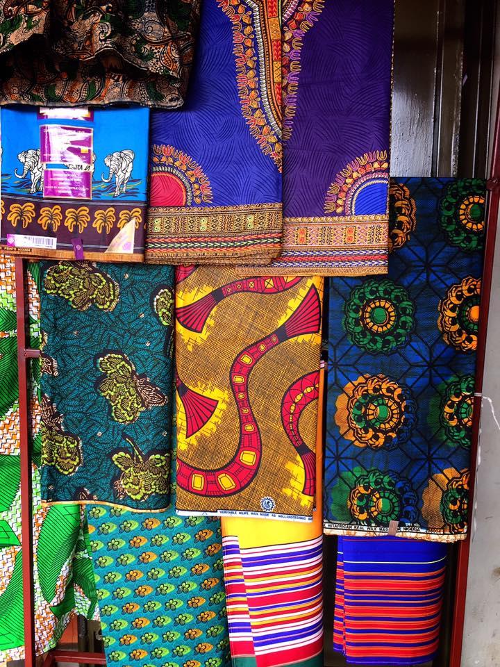ウガンダで服をオーダーメイド