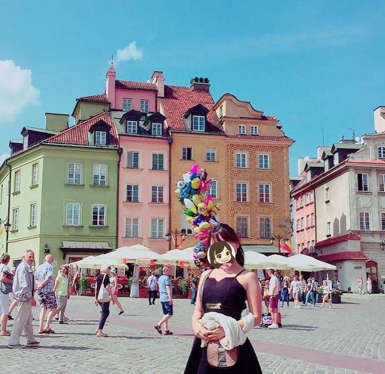 ポーランドのワルシャワ