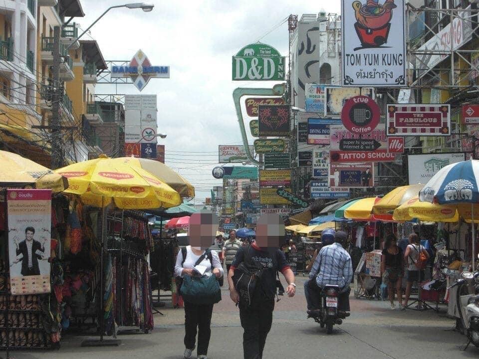 タイ バンコクのカオサン