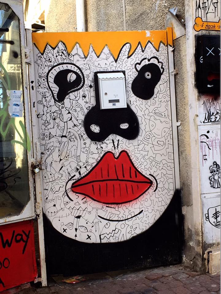テルアビブのストリートアート
