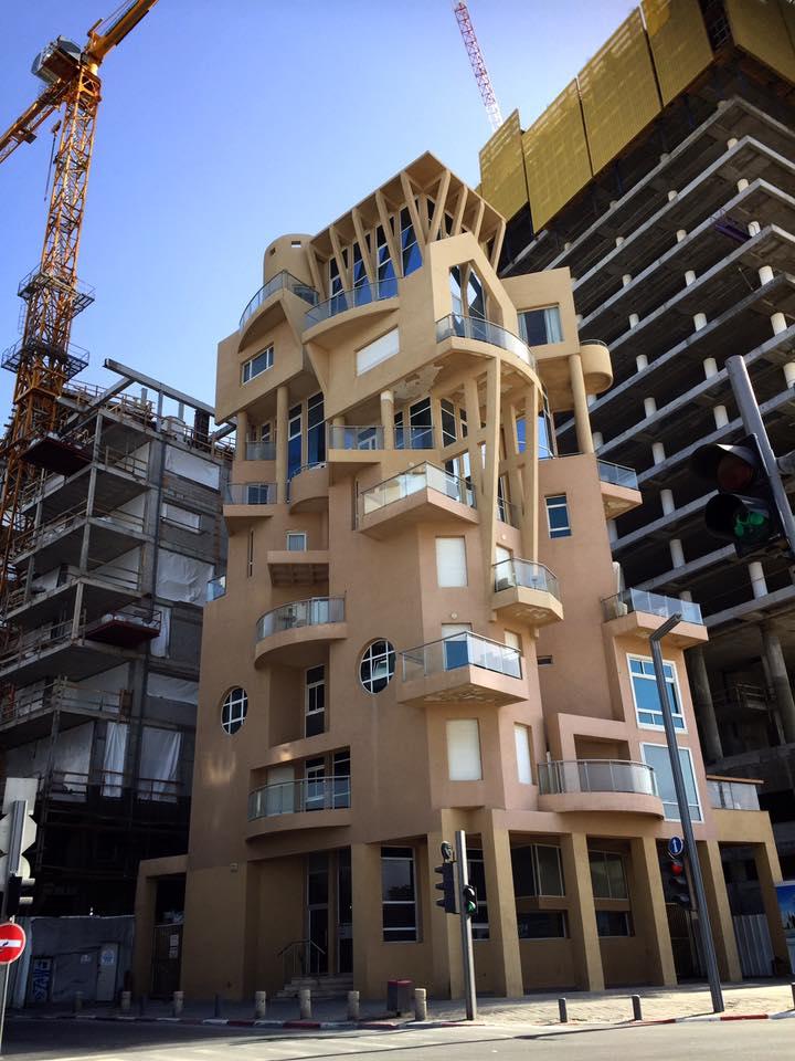 テルアビブのモダン建築