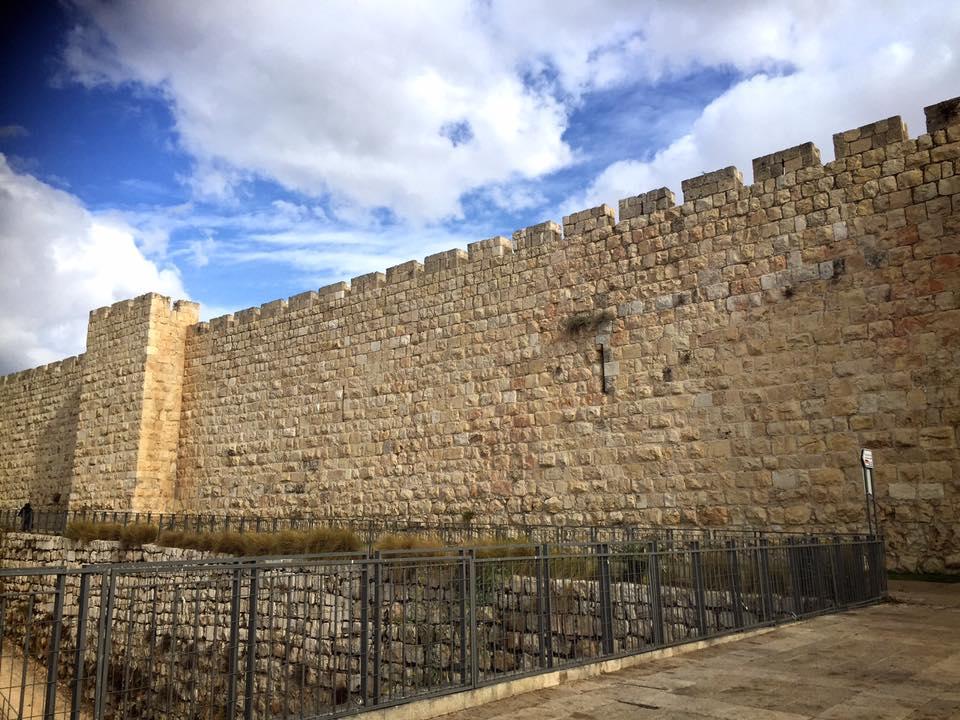 エルサレム旧市街 城壁