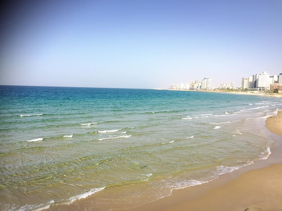 テルアビブのビーチ