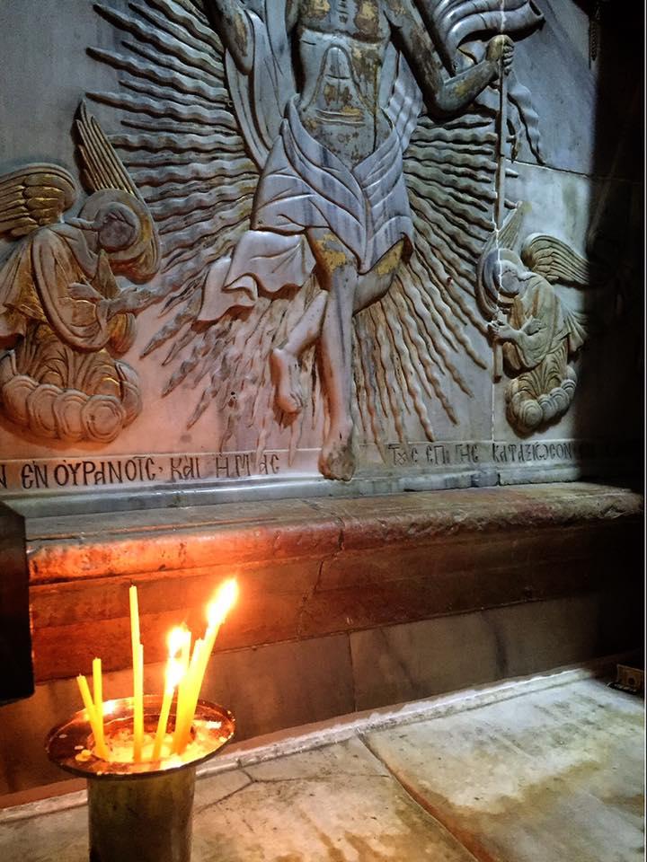 聖墳墓教会 イエスの墓