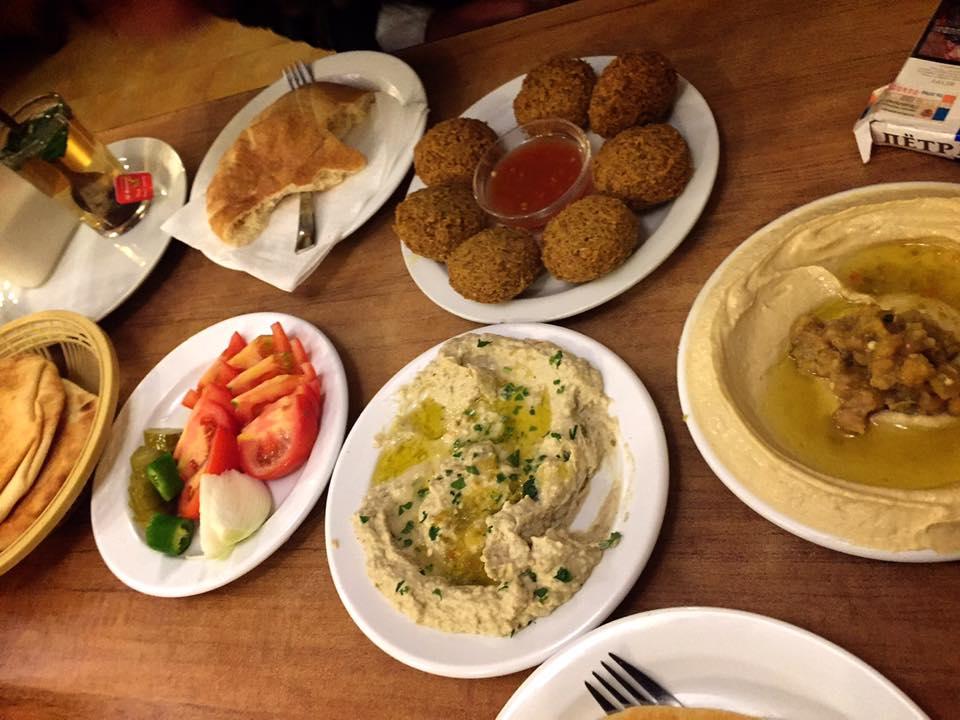 中東料理レストラン