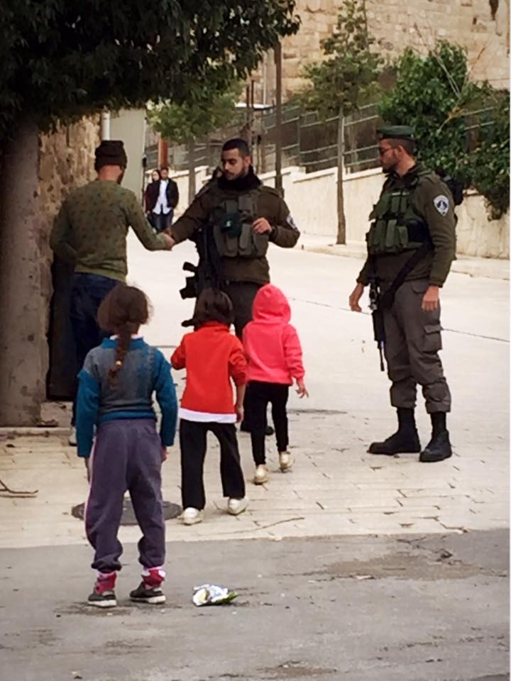 パレスチナ自治区 ヘブロンのゴーストタウン