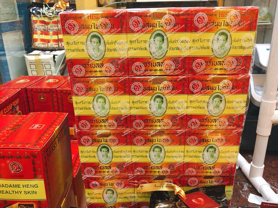 【タイ土産に最適】マダムヘン・ハーブ配合のオーガニック石鹸 オリジナル