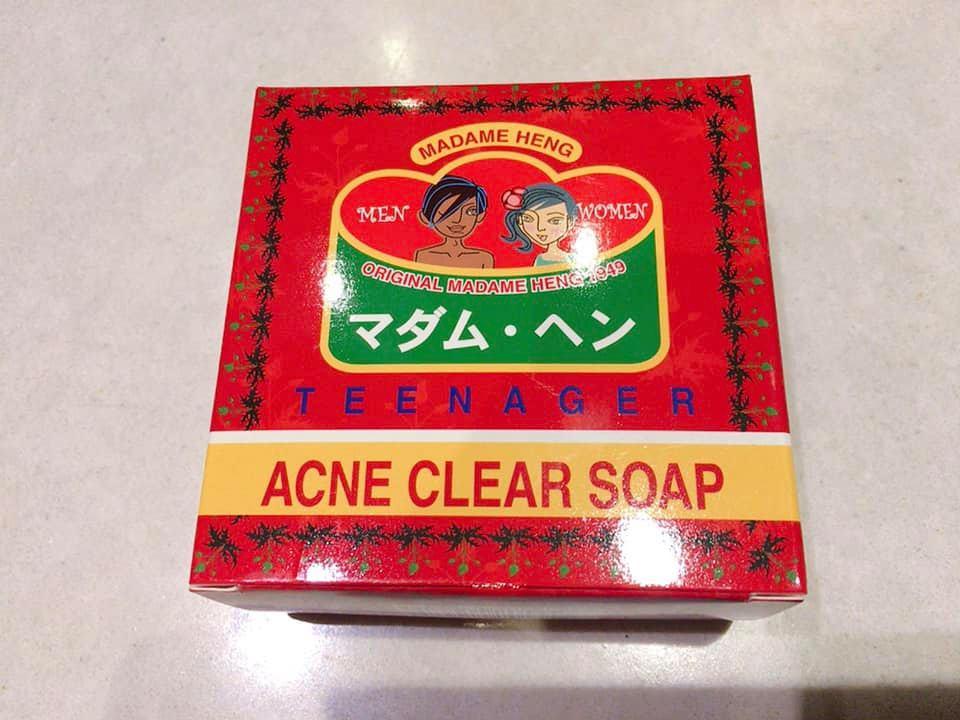 【タイ土産に最適】マダムヘン・ハーブ配合のオーガニック石鹸 ニキビ用