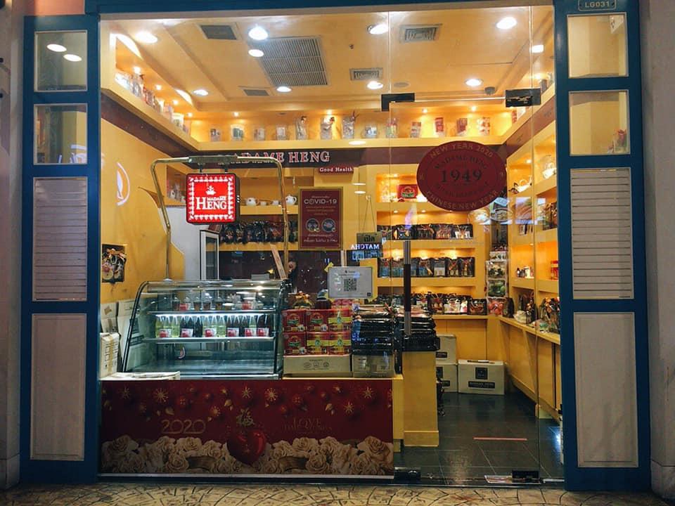 【タイ土産に最適】マダムヘン・ハーブ配合のオーガニック石鹸 ターミナル21