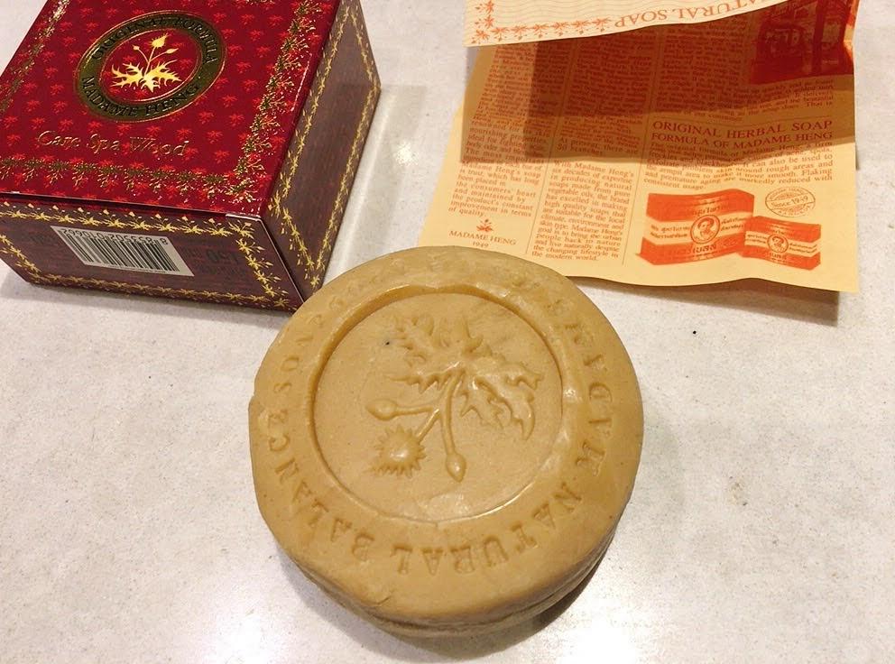 【タイ土産に最適】マダムヘン・ハーブ配合のオーガニック石鹸 ウッド