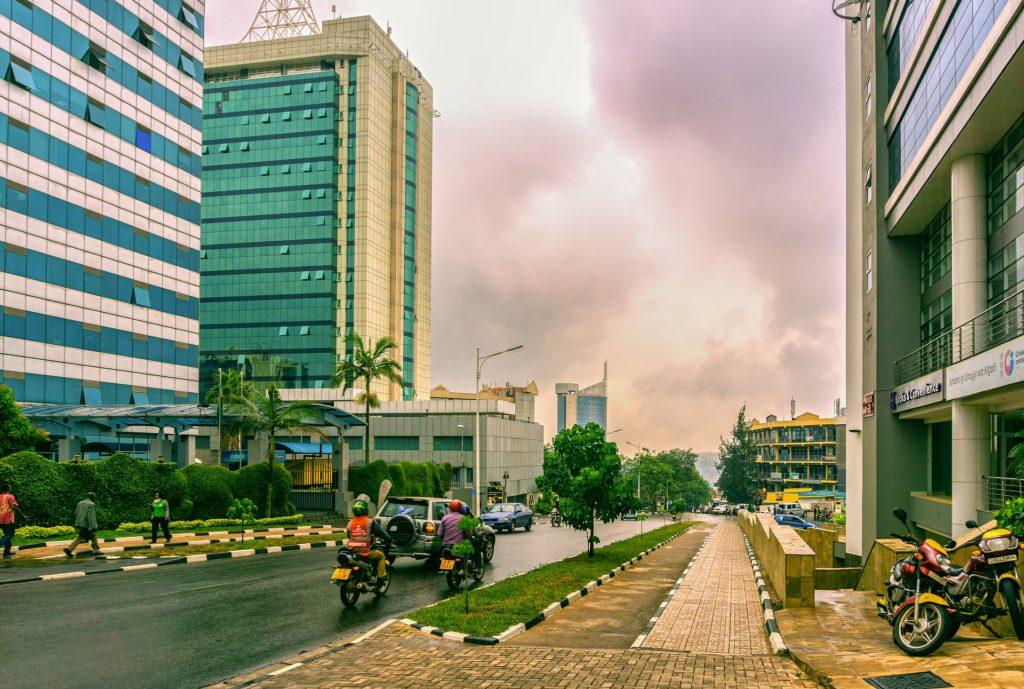 ルワンダの首都キガリ