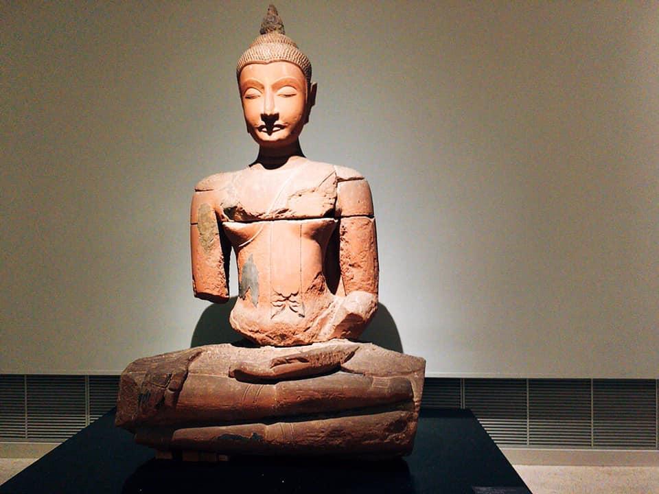 バンコク国立博物館 特別展 アユタヤ