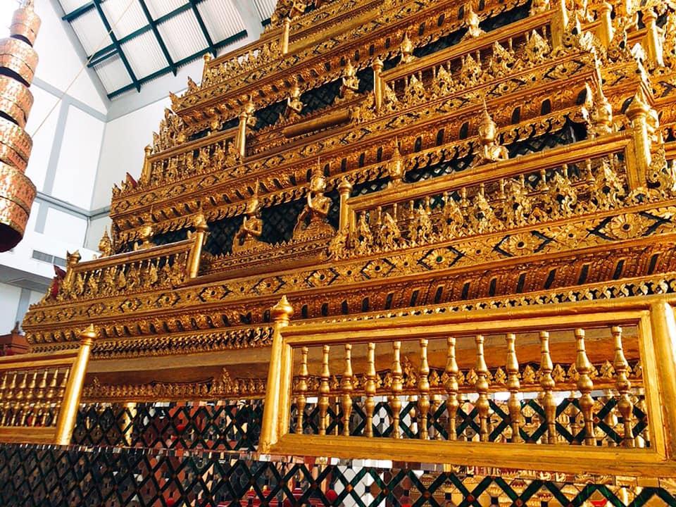 バンコク国立博物館 葬儀に関する展示室