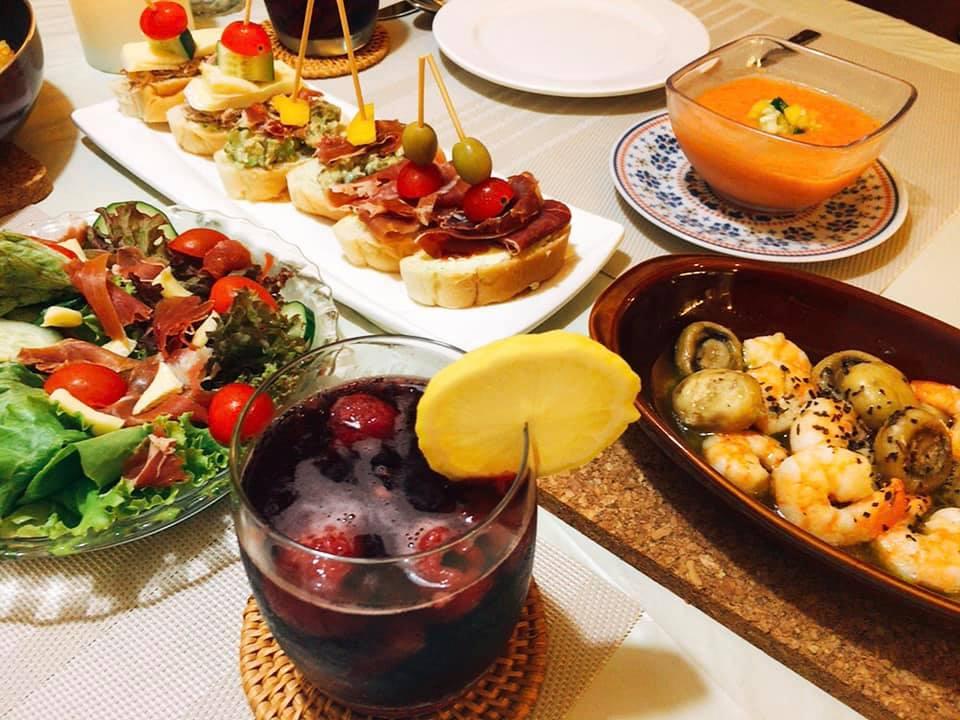 手作り料理 スペイン料理