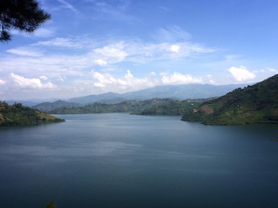 ルワンダ キブイエ キブ湖