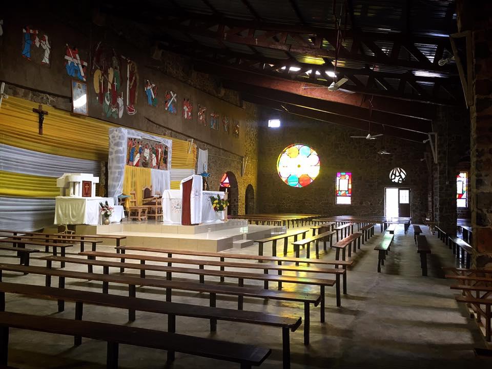 ルワンダ キブイエの教会 ルワンダ虐殺