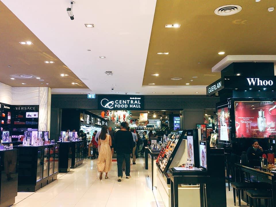 タイの老舗高級デパート「セントラル・チットロム」地下1階のスーパー「セントラル・フード・ホール」