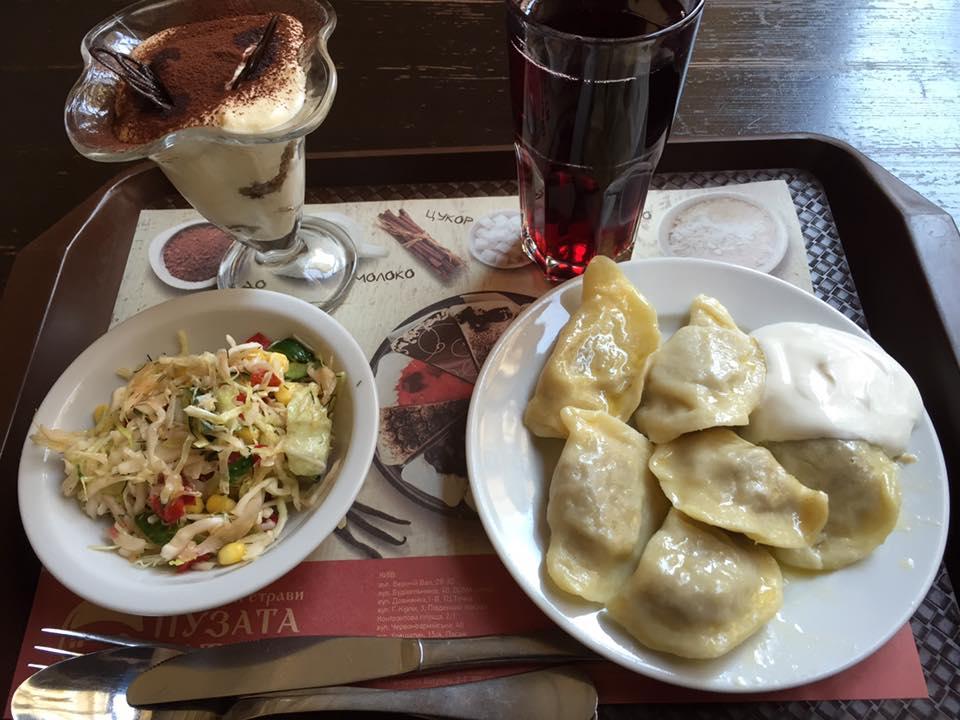 東欧ウクライナの料理 プザタハタ