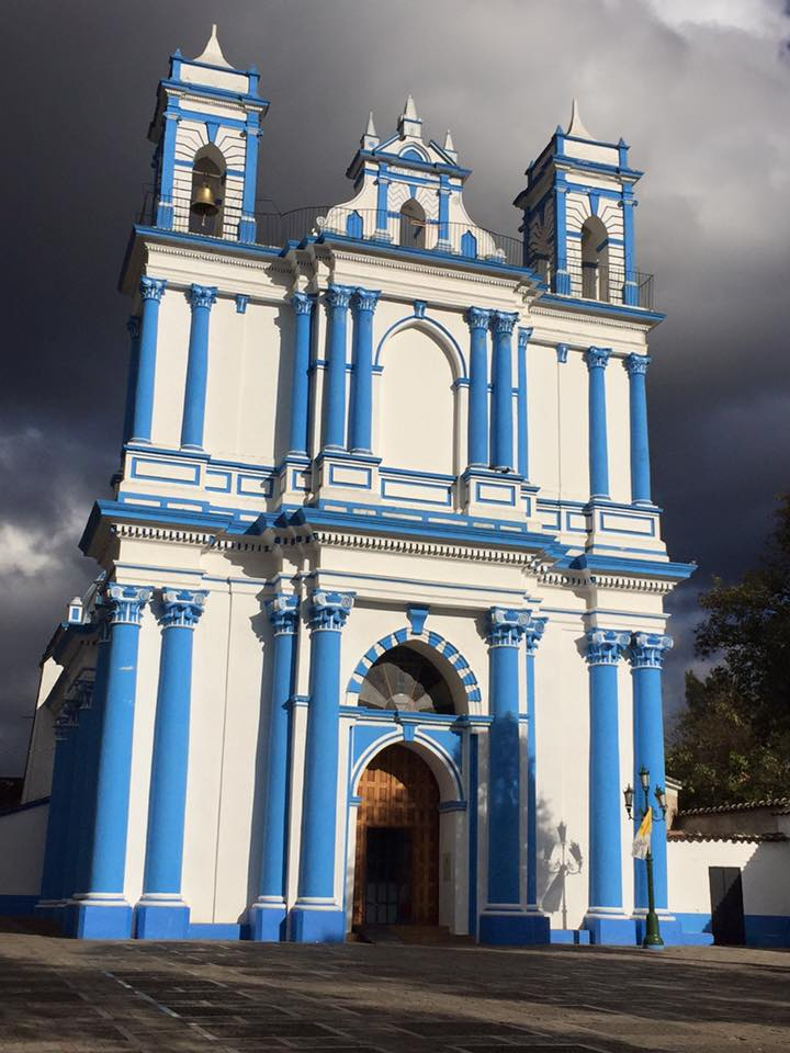 メキシコで折り紙を売ってみた【世界一周中に商売に挑戦|サン・クリストバル・デ・ラス・カサス】サンタ・ルチア教会