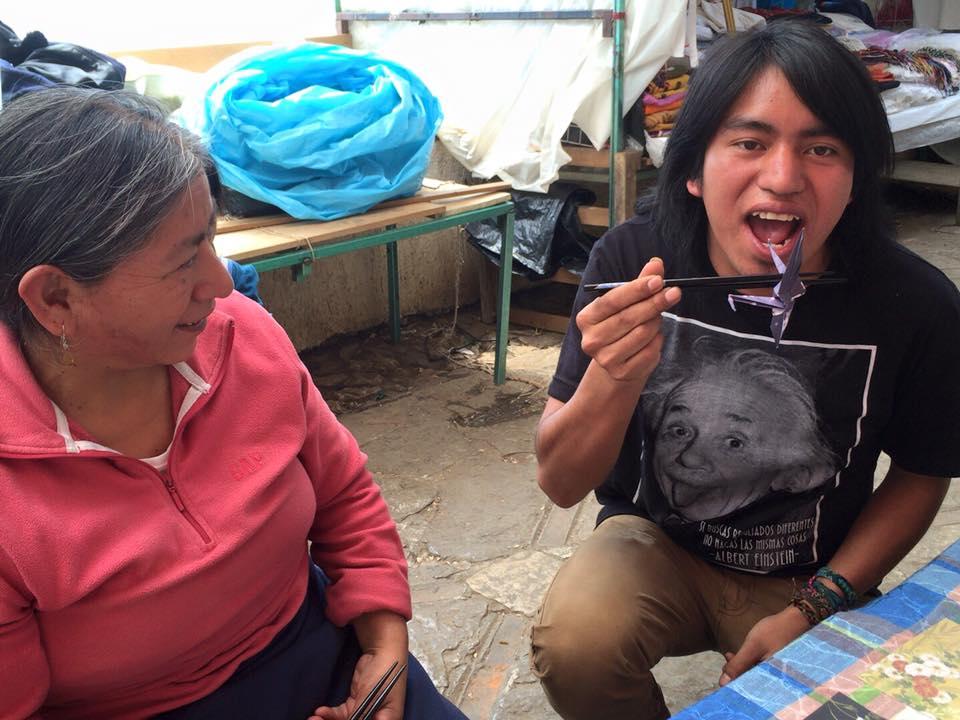 メキシコで折り紙を売ってみた【世界一周中に商売に挑戦|サン・クリストバル・デ・ラス・カサス】casakasa カサカサ 先住民