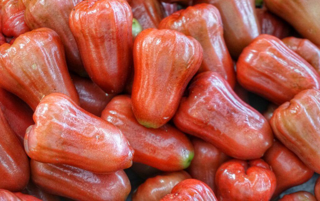 タイに来たら絶対食べたい!南国フルーツ10選【旬の時期やおすすめの食べ方も紹介】ローズアップル
